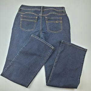 Chico's Short Straight Leg Jean